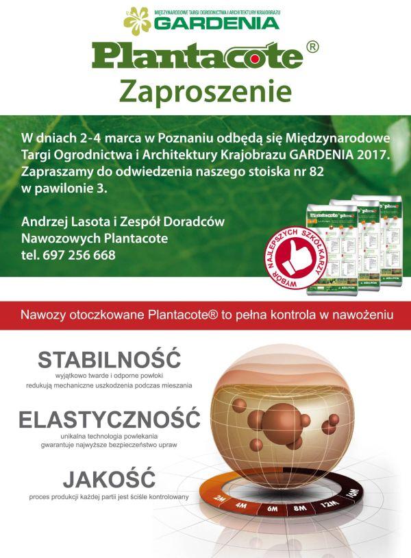 Zapraszamy na Targi Gardenia 2017